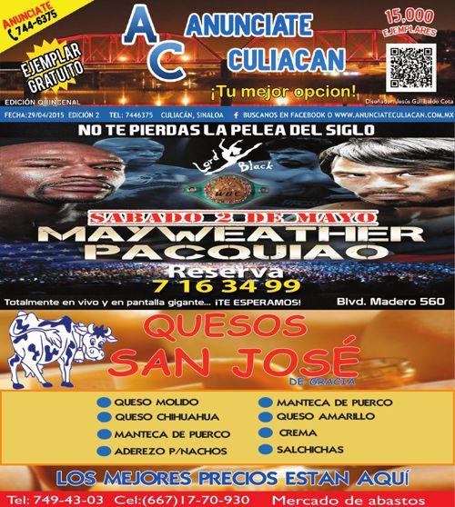 Revista Anunciate Culiacan Edición 2