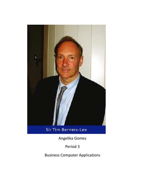 Tim Bereners Lee