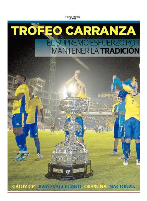 Trofeo Carranza 2012