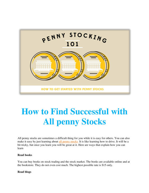 How_to_Find_Successful_with_All_penny_Stocks