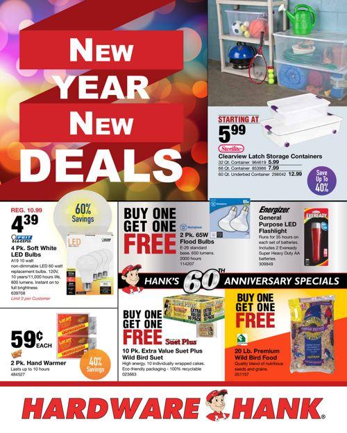 Shelby Paint & Hardware - January 2017 Flyer