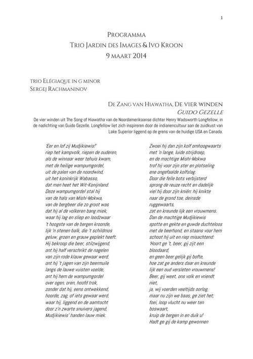 Copy of Programma Jardin maart 2014