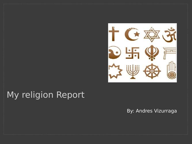My religion r