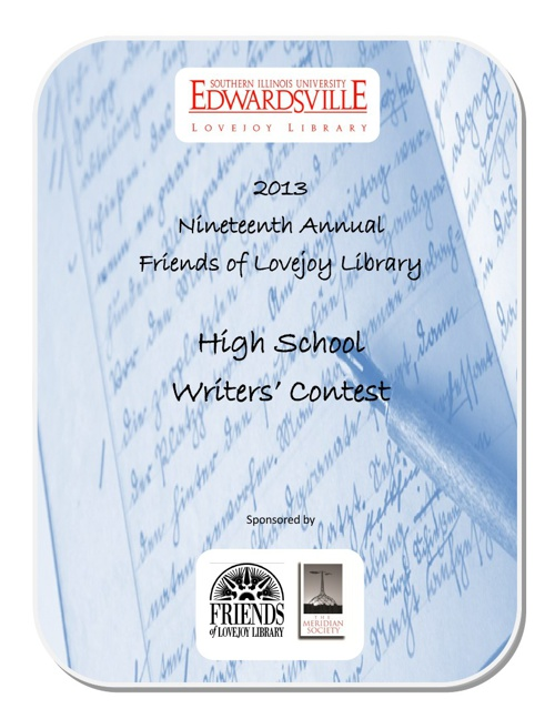 2013 Friends of Lovejoy Library High School Writers Contest Awar