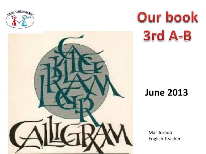 CALIGRAM BOOK