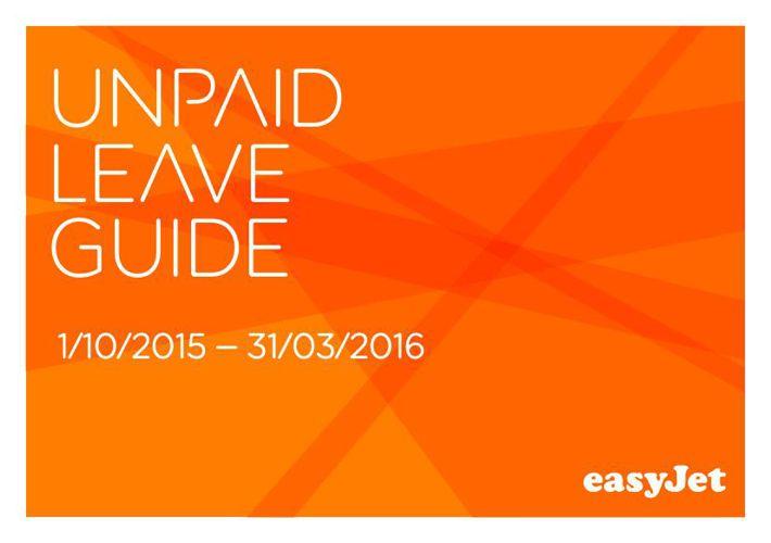 Unpaid Leave Guide