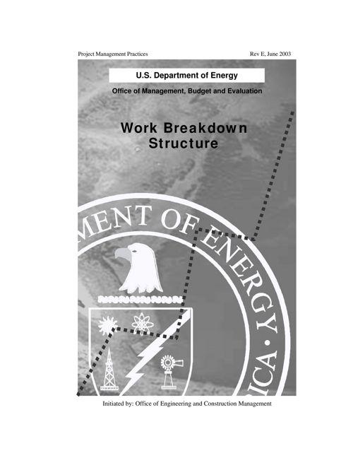 WORK BREAKDOWN STRUTURE