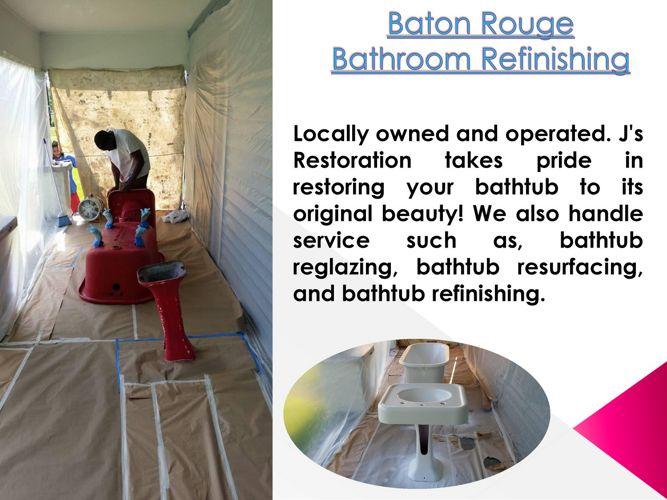 Baton Rouge Bathroom Refinishing