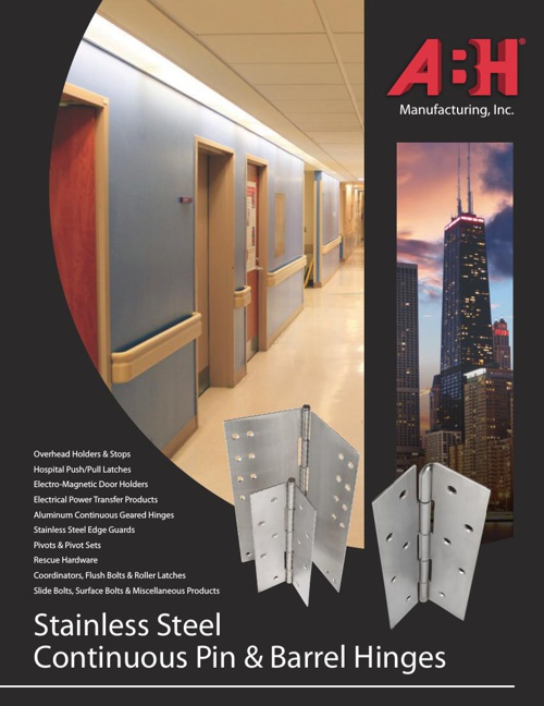 Stainless Steel Continuous Pin & Barrel Hinges