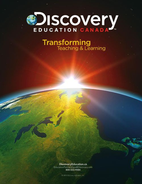 Discovery Education Canada Brochure