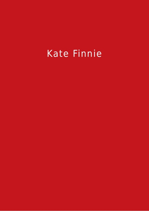 Kate Finnie – Portfolio in Brief