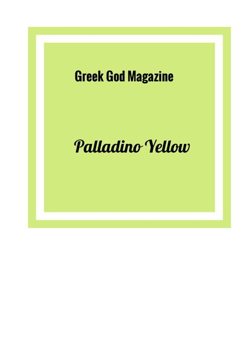 Palladino Yellow 2016