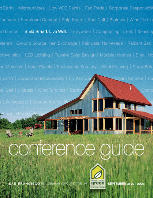 West Coast Green Conference Guides