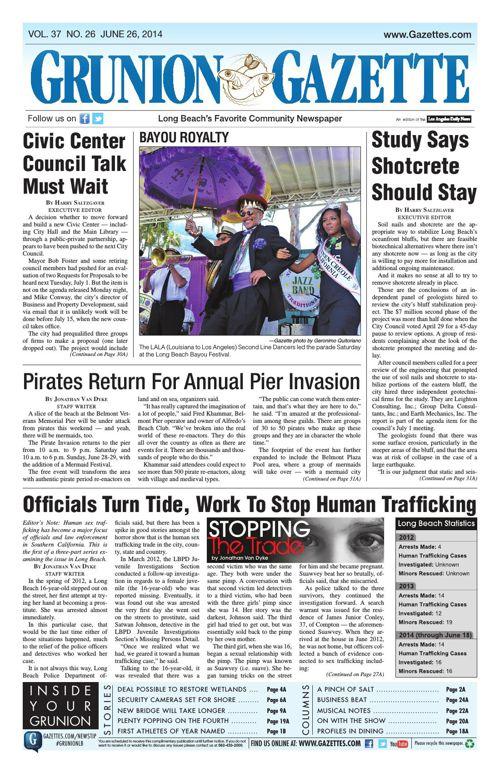 Grunion Gazette | June 26, 2014