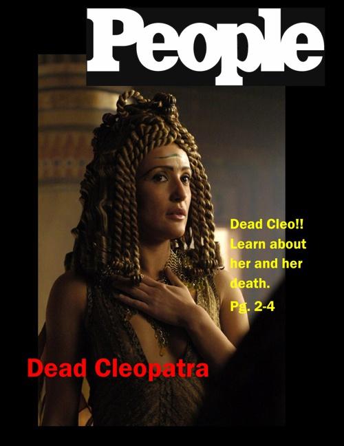 Cleopatra- Holmes, Antoinette