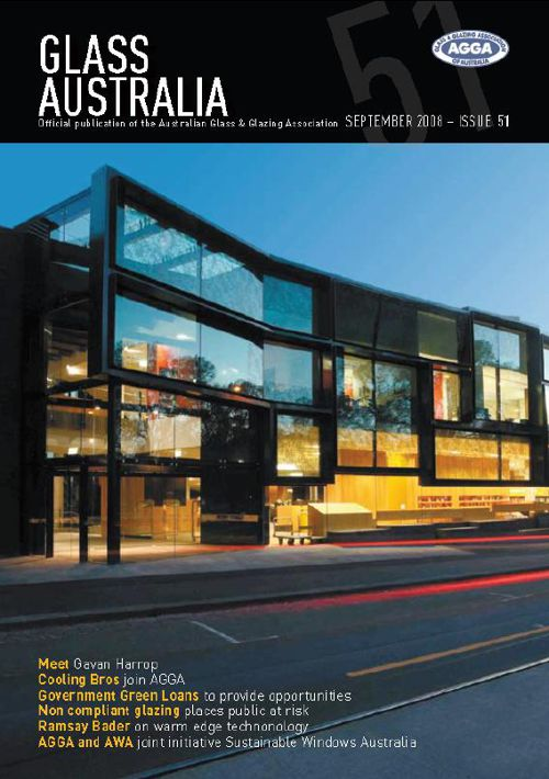 Glass Australia Magazine - Issue 51 - Sept 2008