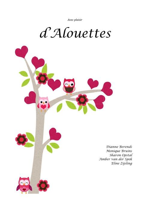 Tijdschriftje d'Alouettes februari 2013