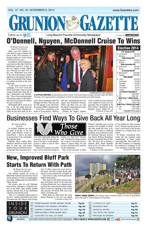 Grunion Gazette | 11-6-14