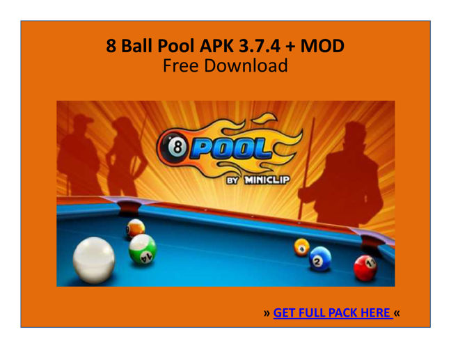 8 Ball Pool 3.7.4 APK + MOD | FREE DOWNLOAD