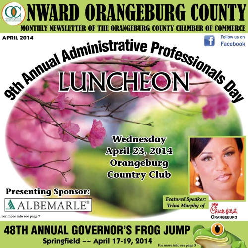 Onward Orangeburg County Newsletter