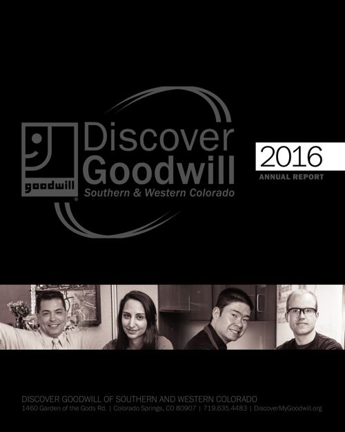 2016 Discover Goodwill Annual Report