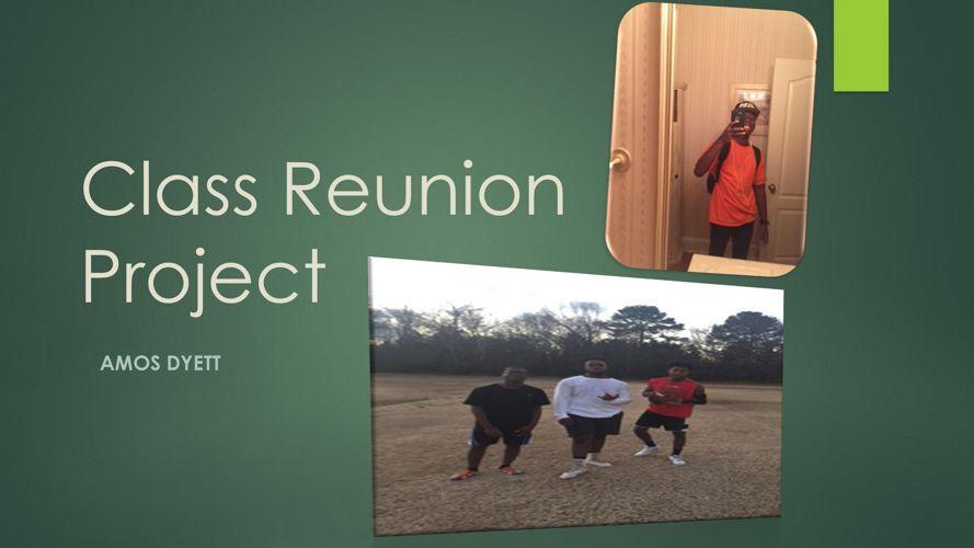 Class Reunion Project