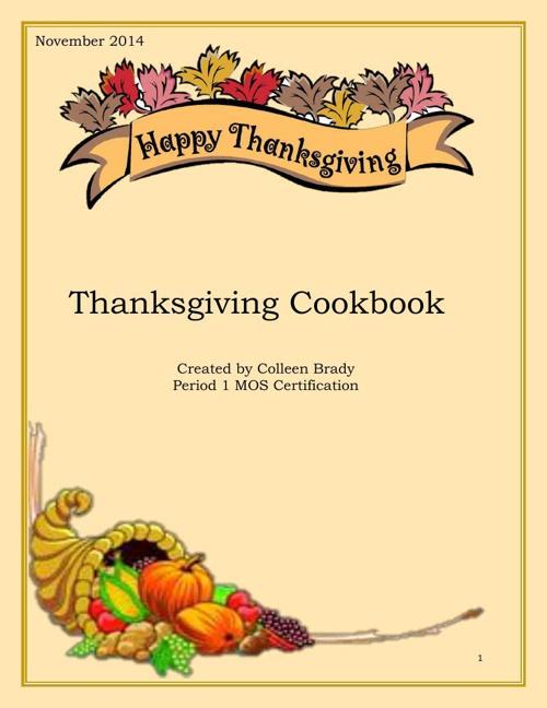 Final Thanksgiving Cookbook PDF