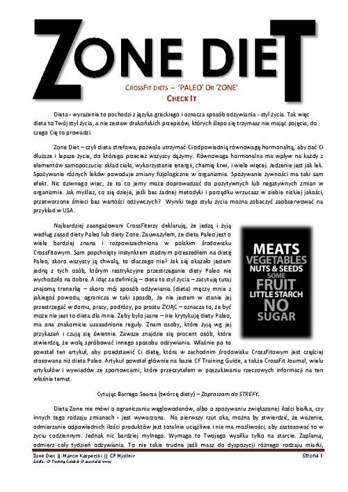ZONEdiet-Marcin Kasperski-CrossFit Mjollnir Team