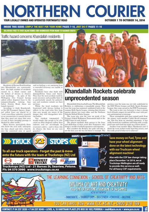 Northern Courier 1 October 2014