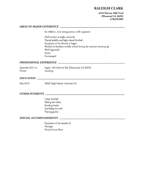 Copy of Raleigh's Resume