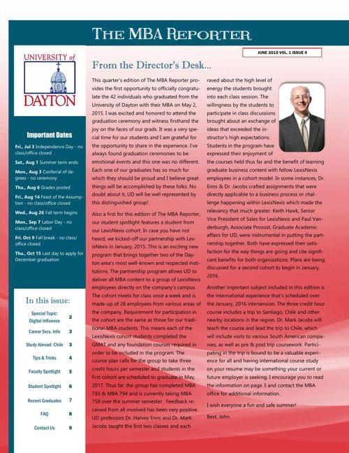 MBA Newsletter Jun 2015