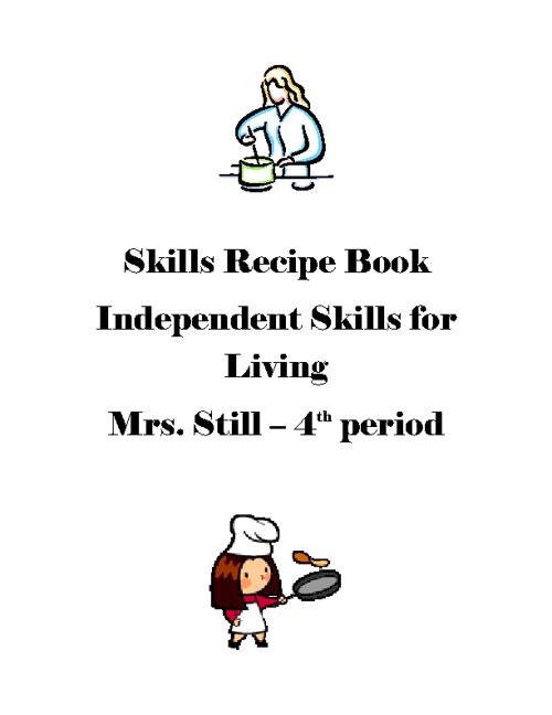 Independent Skils for Living by Katherine Gunter