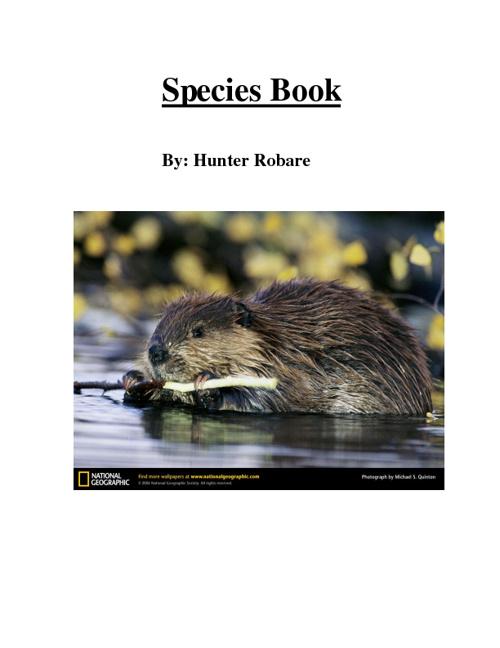 SpeciesBook
