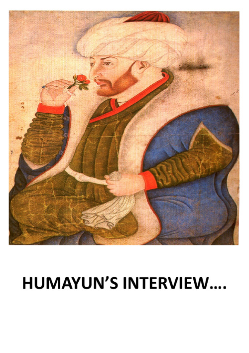 interview with humayun...