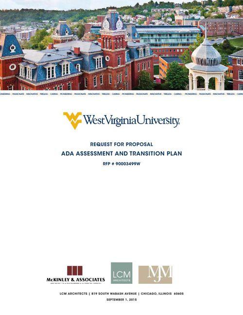 LCM Architects WVU Proposal 8.24.2015