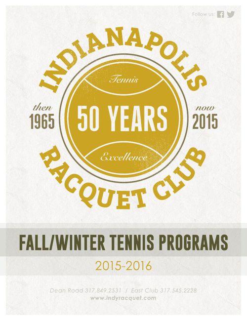 IRC Fall/Winter Tennis Programs 2015-2016