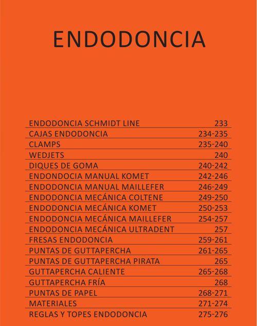 ENDODONCIA - CAT. GRAL. 2015 CASA SCHMIDT