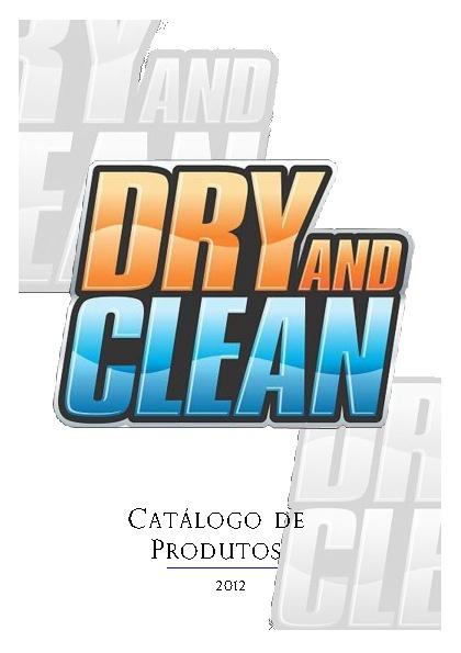 Catálogo Produtos Dry and Clean