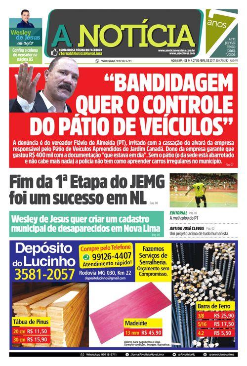 Jornal A Notícia - Edição 282
