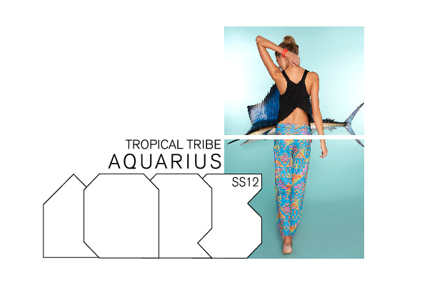 I Love Aquarius Flip Book v. 1