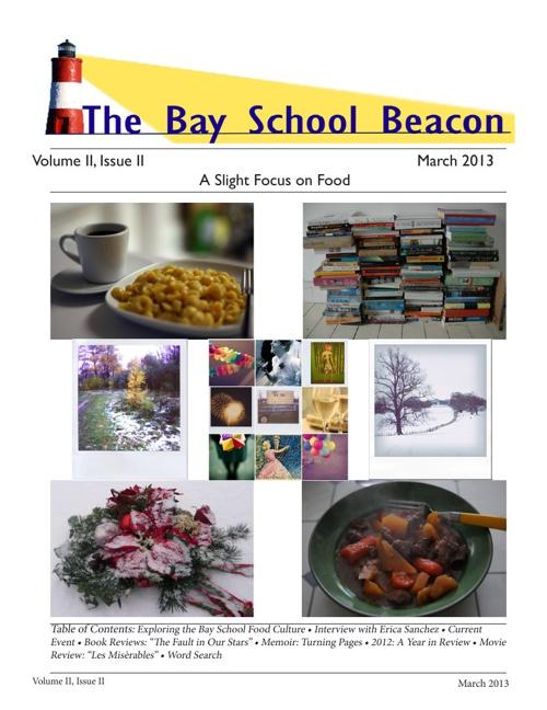 The Bay School Beacon: March 2013