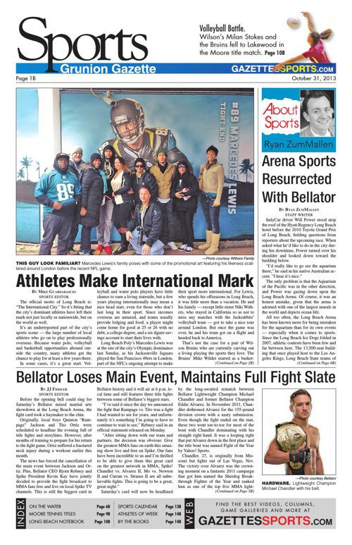 Gazette Sports | October 31, 2013