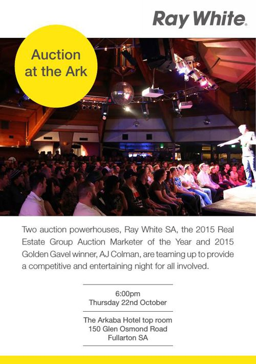 2015 Ray White Auction at the Ark