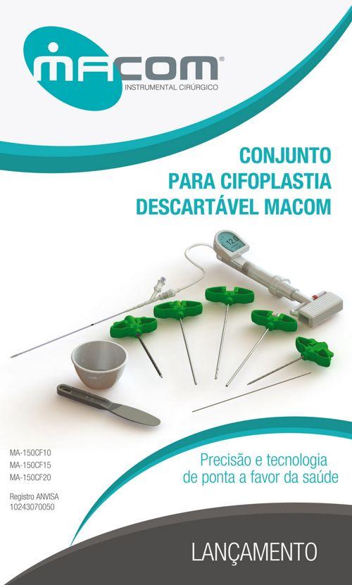 Macom - Conjunto para Cifoplastia Descartável