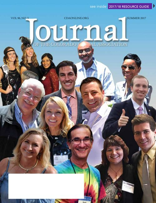 Summer 2017 Journal of the Colorado Dental Association