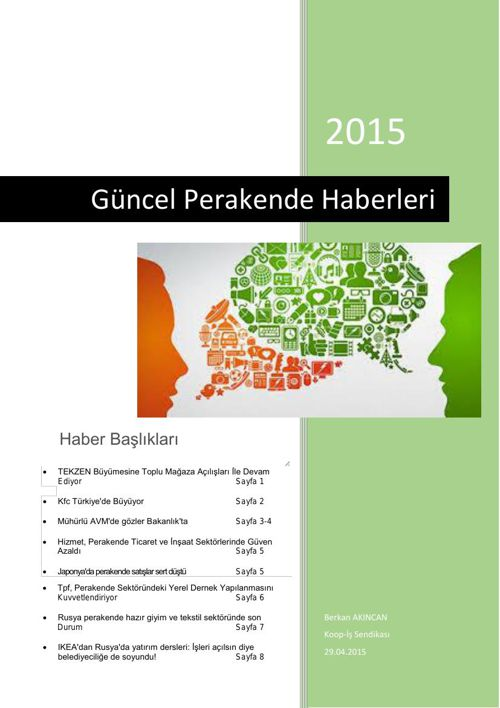 Türkiye Perakende Güncel Haber