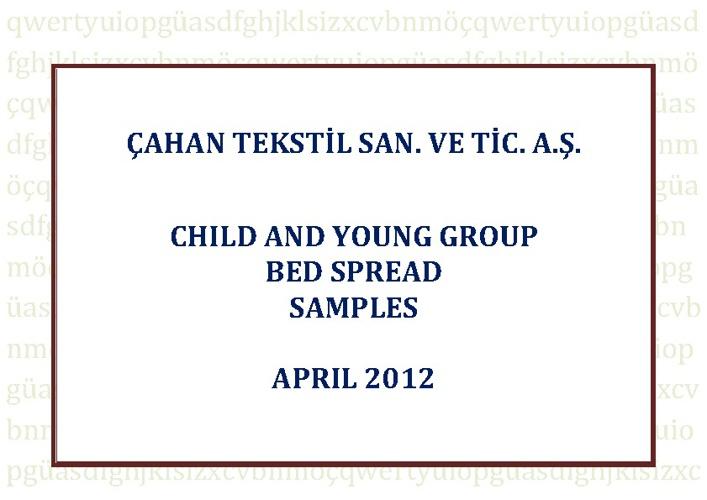 Çahan Textile A.Ş   Junior and Young