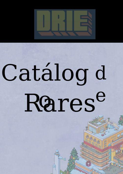 Catalogo Rares DrieHotel