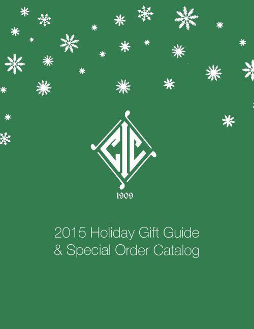 2015 Interlachen Holiday Gift Guide