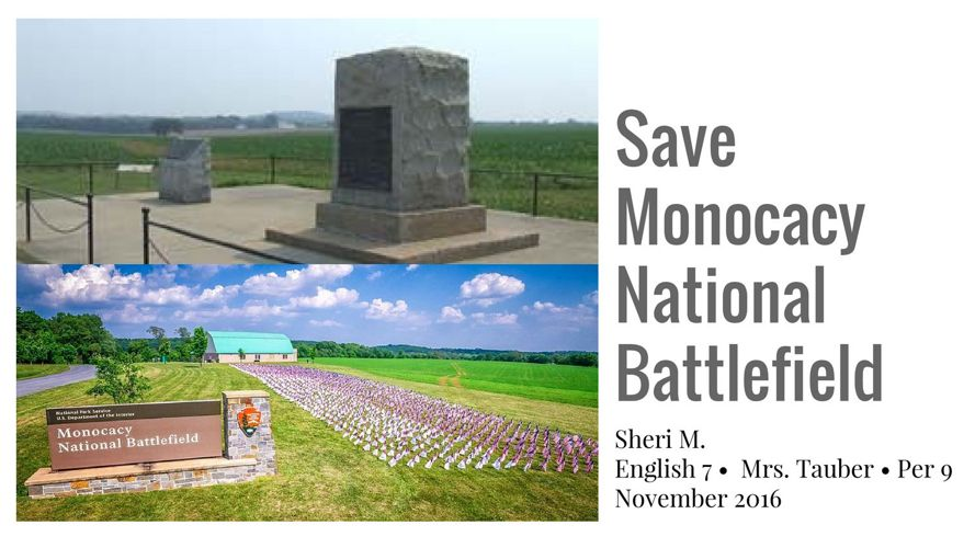 Save Monocacy National Battlefield (2)